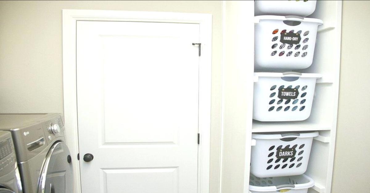 Цэгцтэй угаалга , Булангын хэсэг , Угаалгын сагс