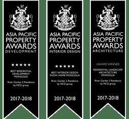 River Garden 2 Internatinal Property Awards winner