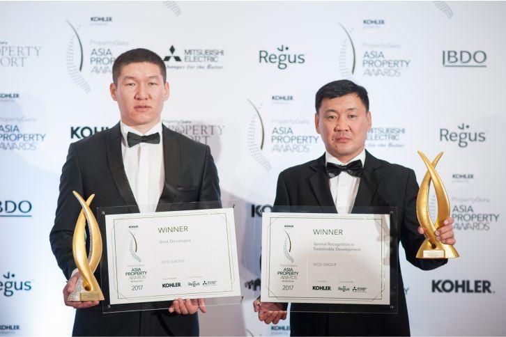 Asian Property Awards шагнал гардуулах ёслол NCD Group шилдэг бүтээн байгуулагч