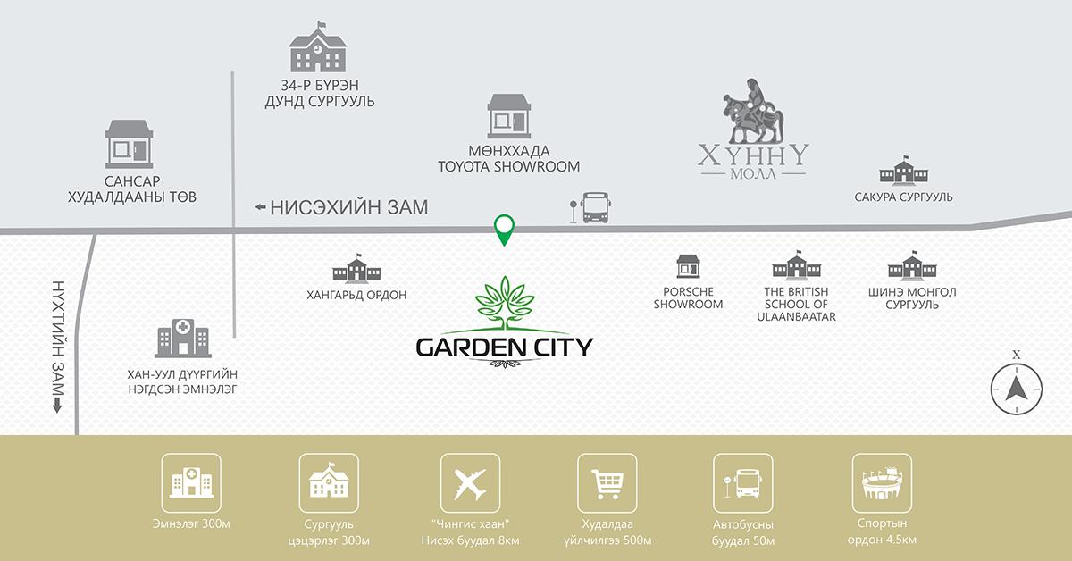 Garden city байршил