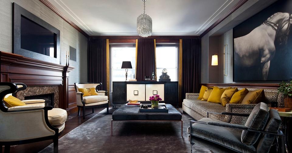 Elegant fusion interior design
